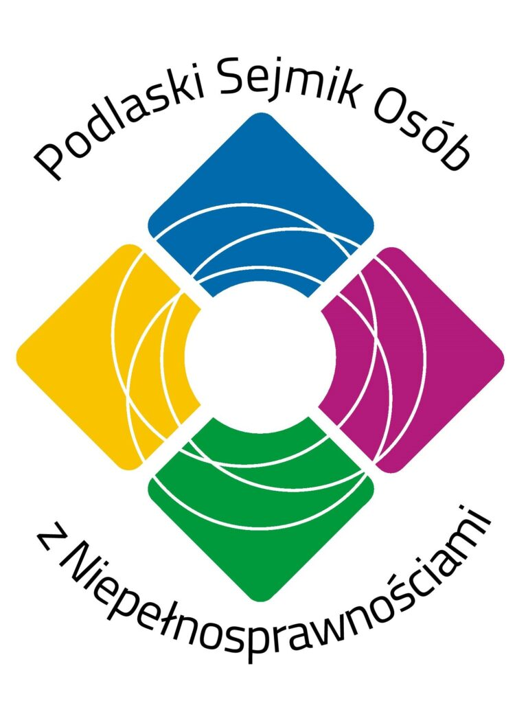 Logo Podlaski Sejmik Osób z Niepełnosprawnościami