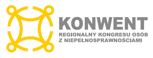 Grafika Regionalnego konwentu osób z niepełnosprawnościami